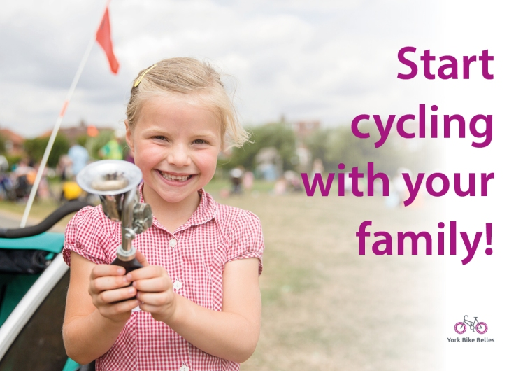 Cycling Fams postcard side 1