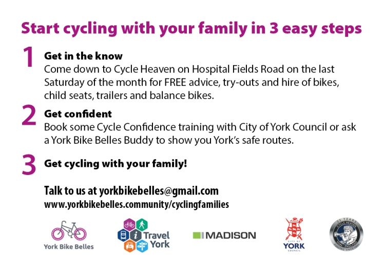 Cycling Fams postcard side 2